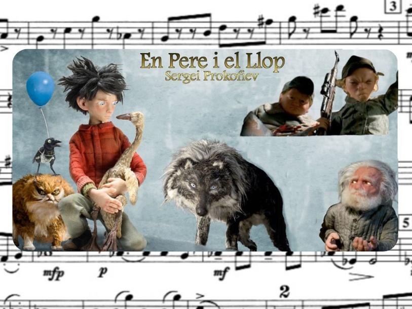 EN PERE I EL LLOP (Copy) by RICARD ROCA