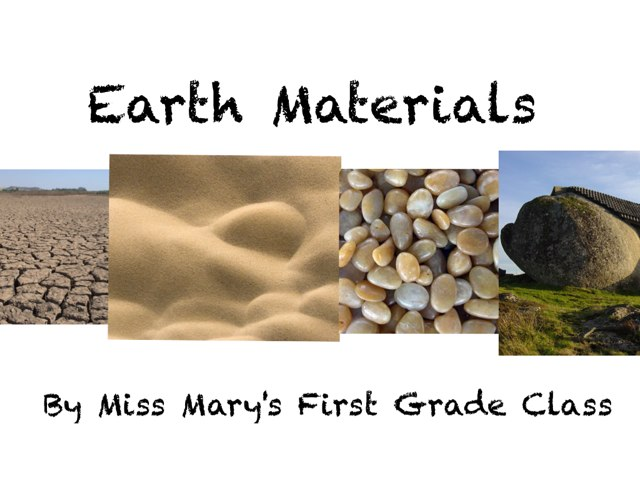 Earth Materials by Mary Waddell