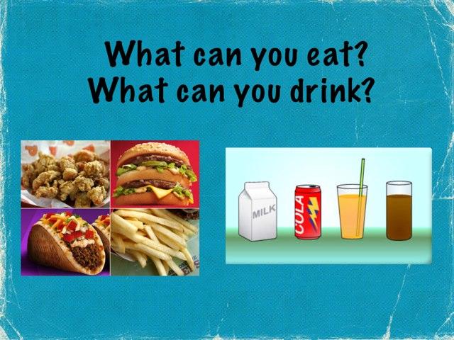 Eat Or Drink by Karen Souter