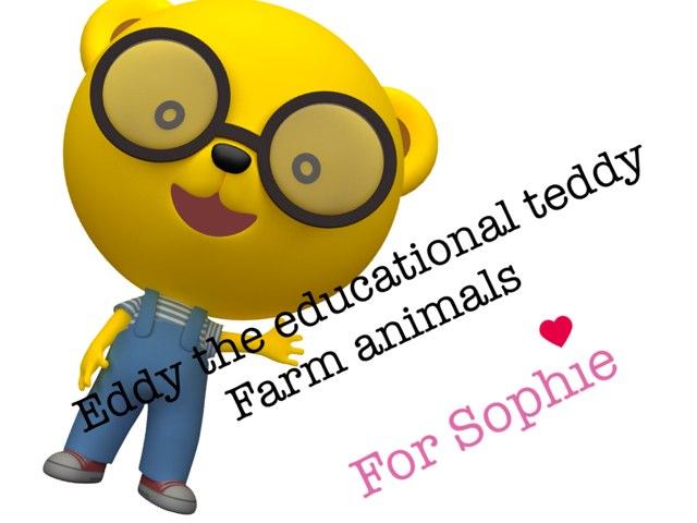 Eddy The Educational Teddy Farm Animals by Chloe Russell