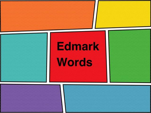 Edmark List 1-30 by Jen Pranger
