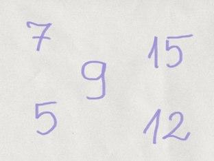 Efac Numbers Up To 30 by Malwina Przyborowicz