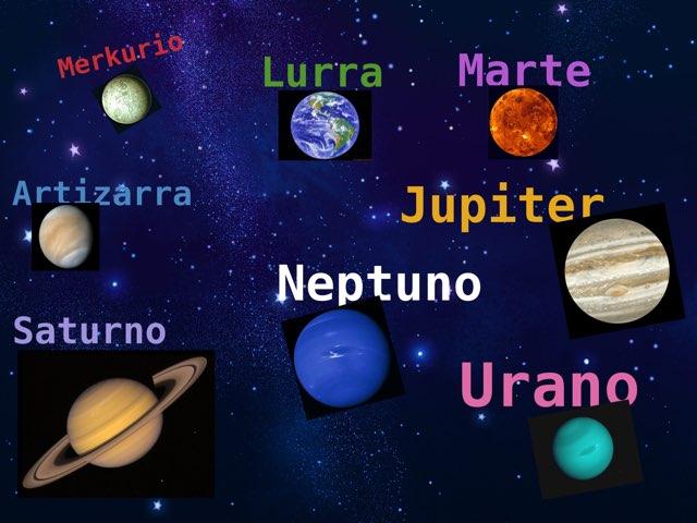 Eguzki Sistema Planeten Ezaugarriak by Almu Molina