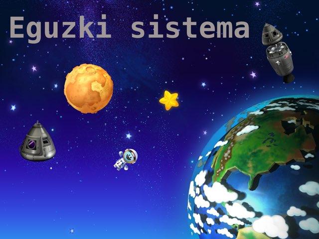 Eguzki Sistemako Elementuak by Almu Molina