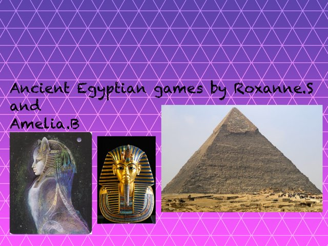 Egypt By Amelia And Roxanne by St Cecilias