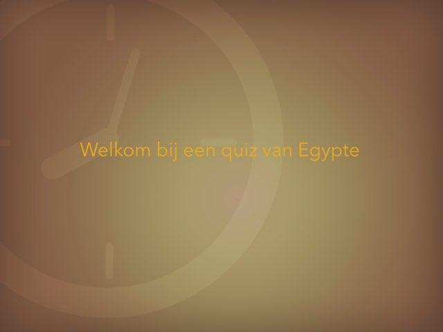 Egypte by Djurre plokkaar