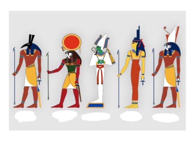 Egyptische Goden by Gino Vanherweghe