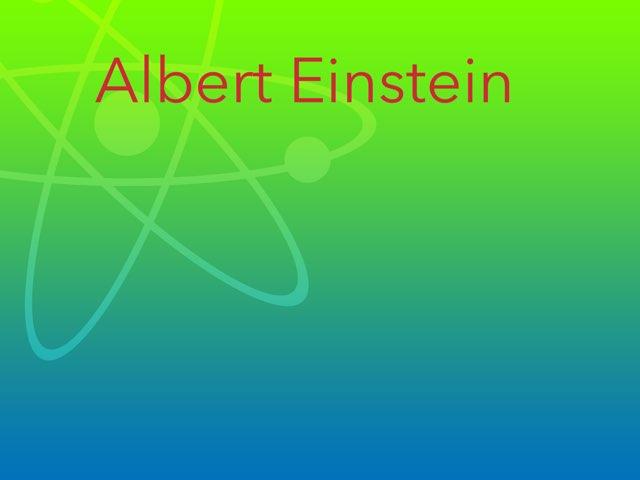 Einstein  by Cristina Chesser