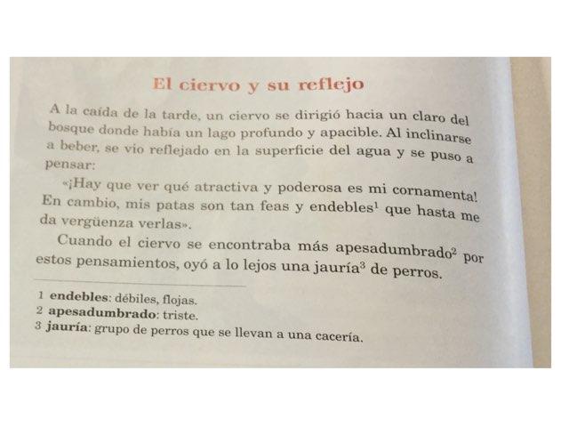 El Ciervo Y Su Reflejo by Marc Fernández