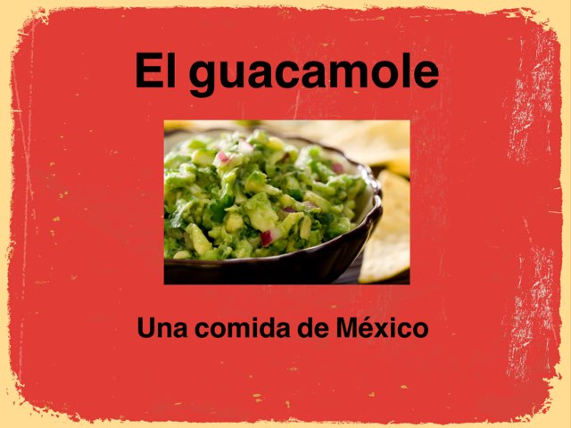 El Guacamole by Rodica Harvey