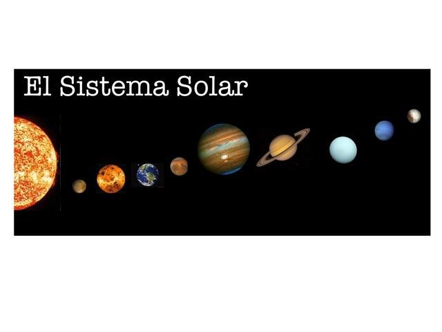 El Sistema Solar by Curso CFTIC