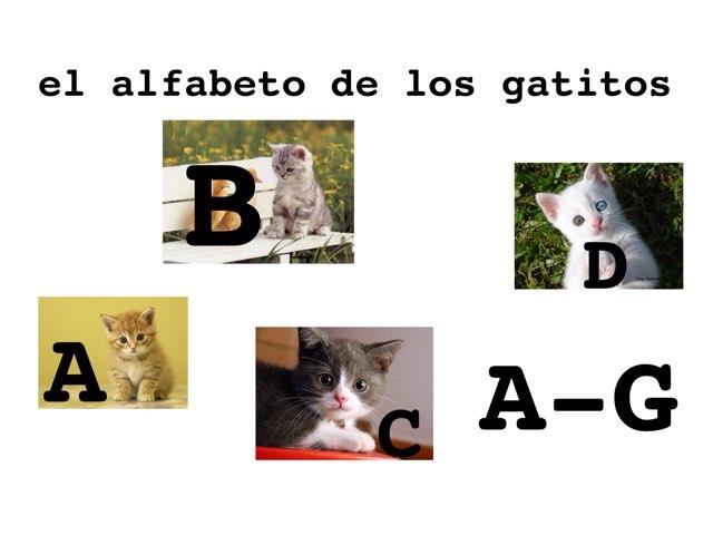 El alfabeto de los gatitos A-G by umhj hjmbj