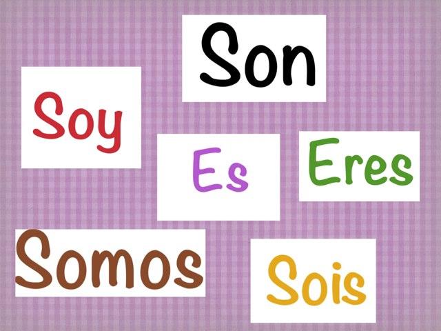 """El verbo """"Ser"""" by Mariela Triana"""