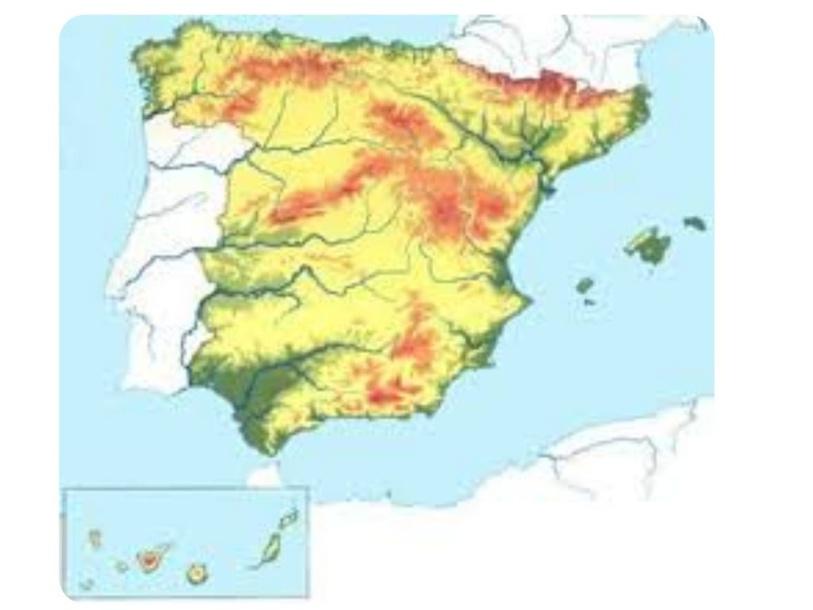 El relieve de España by Nadia Ramos Jiménez