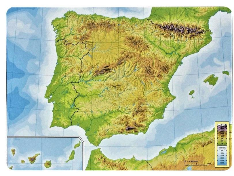 El relieve de España by Diego Hernández Sánchez