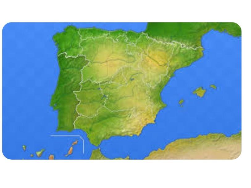 El relieve de España by Ángela Jiménez Úbeda
