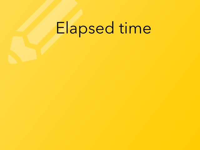 Elapsed Time by Elo-Kai Kurel