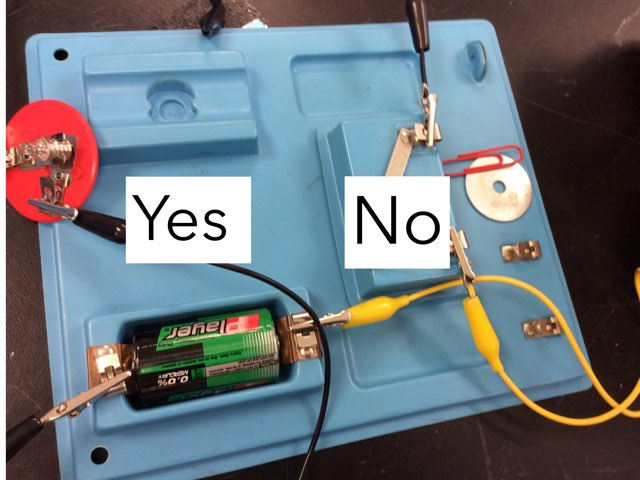 Electricity: What Works In A Switch? by Sarah Bosch