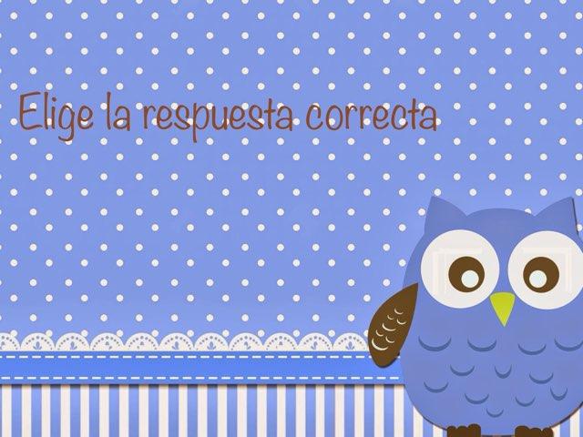 Elige La Respuesta Correcta (1) by Zoila Masaveu
