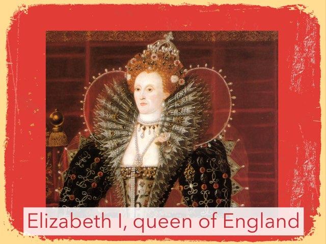 Elizabeth I by Thalia Chelouche