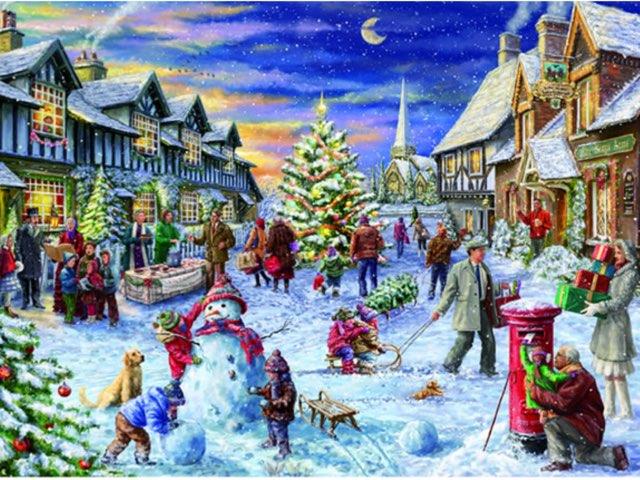 Ellie's winter scene by Mr Parkinson