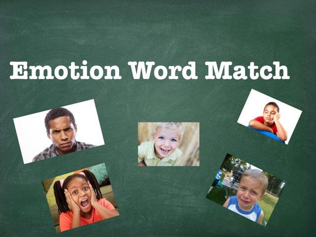 Emotion Word Match by Matthew Newton