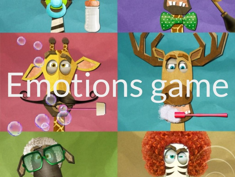 Emotions game by Diana Molina