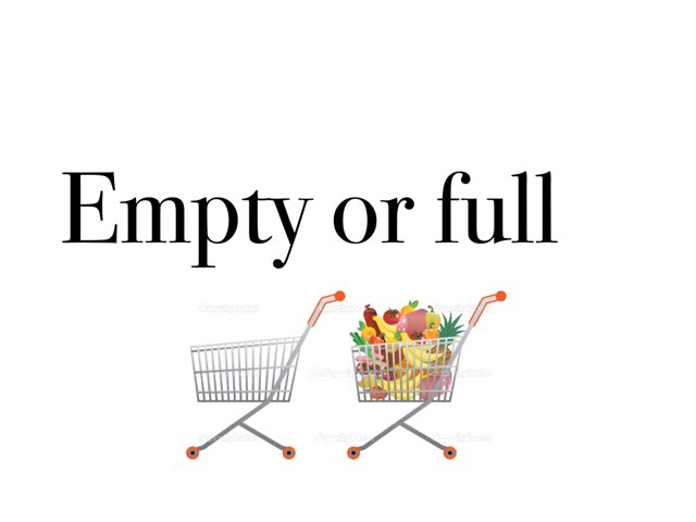 Empty Or Full by Madonna Nilsen