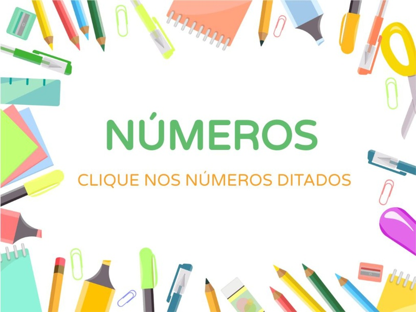 Encontre os números (16 a 20) by Anna Guedes