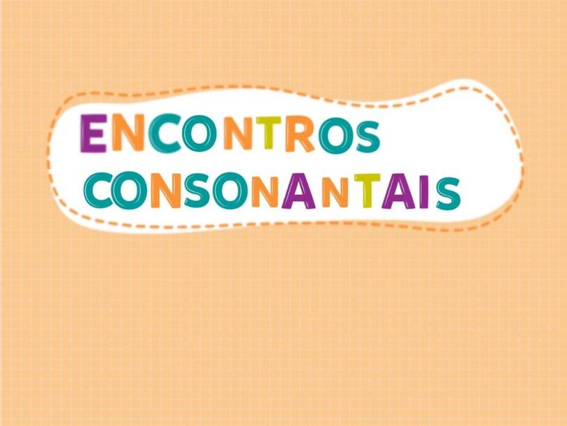 Encontros consonantais by Gabriela Emerick