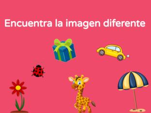 Encuentra la diferencia by Andrea Colmenarejo