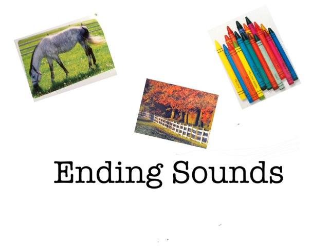 Ending Sounds by Liz Bransky