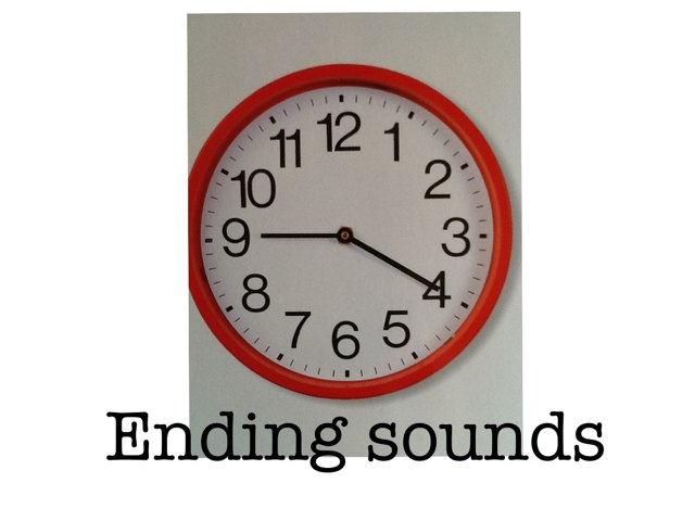 Ending Sounds by Sue Klema