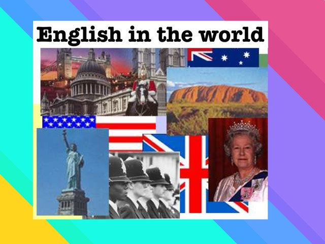 English In The World by steven huitorel