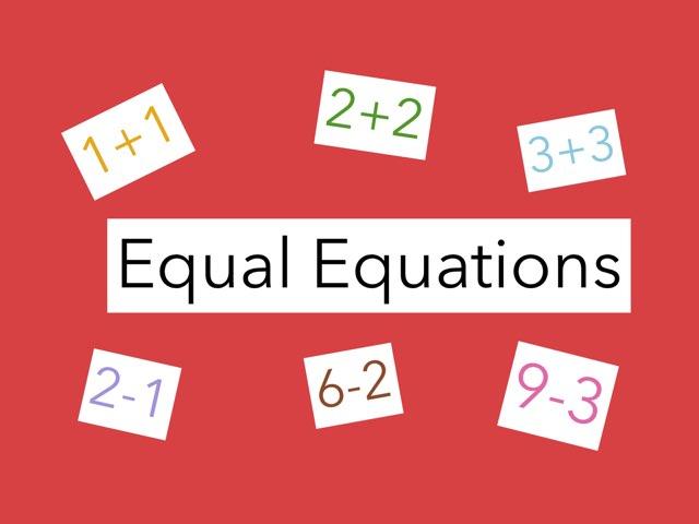 Equal Equations-1.OA.7 by Jennifer