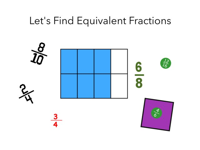 Equivalent Fractions by Joan doherty