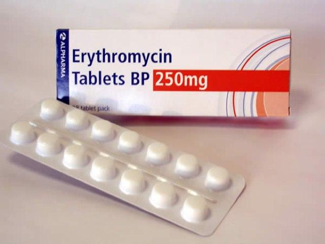 Erythromycin by Kira Jones