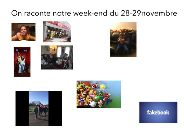 Esc PR We Du 28-29 Nov by Depoorter ophelie