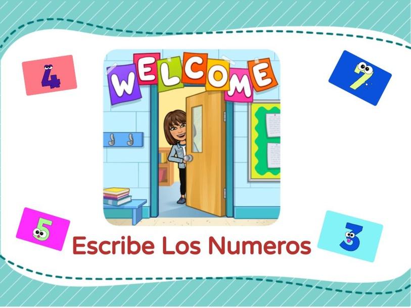 Escribe Los Numeros by Ruth Edwards
