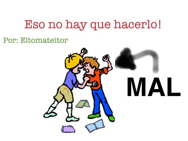 Eso No Hay Que Hacerlo!! by Gaston Delgado