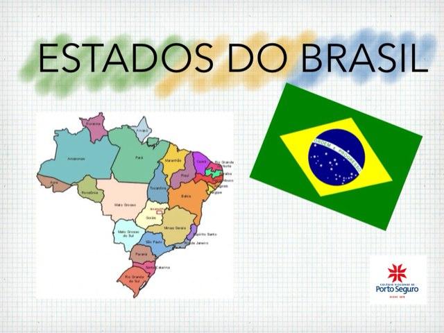 Estados Do Brasil by Cibelle Toledo