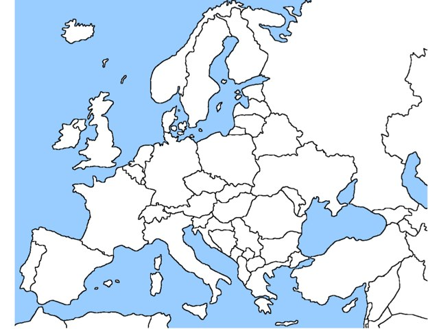 Europe And Russia Geography by Matt Schifeling