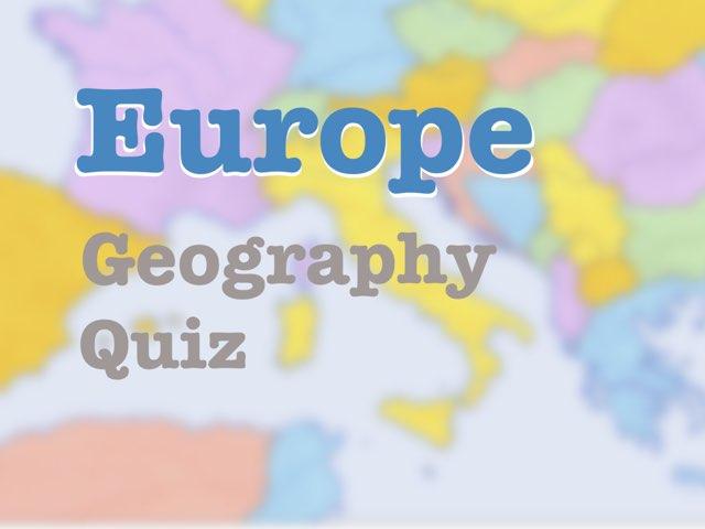 Europe Geography Quiz by Camron SanDiego