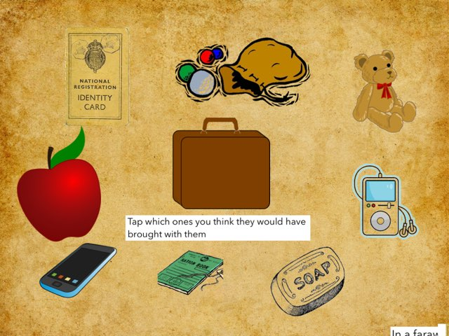 Evacuee Suitcase Game by RGS Springfield