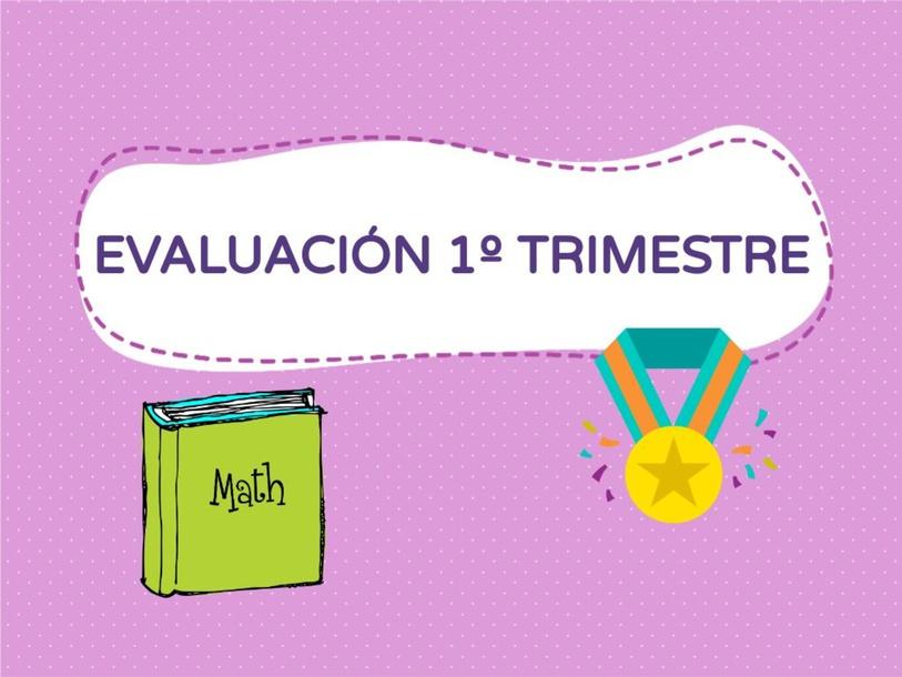 Evaluación 1º trimestre by INMA TAPIAS