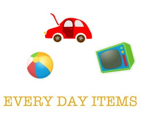 Every Day Items by Malice Chip