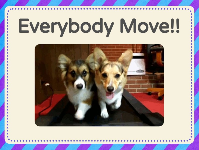 Everybody move your body! by Melissa Fitzgerald