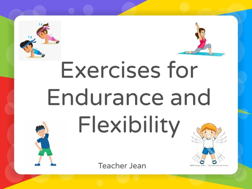 Exercises for Endurance and Flexibility by Jean Nads