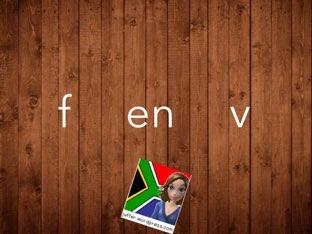 F en V - vir Beginners by Juffer Juffrou