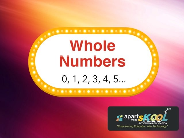Whole Numbers by TinyTap creator